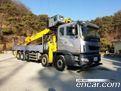 타타대우 프리마 대형트럭 카고크레인 25톤 10X4  26430516 미리보기2